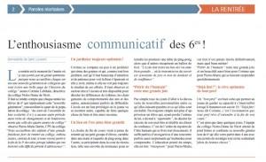 article_rentree_Paroles_niortaises